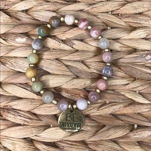 Jewelry - Be strong beaded bracelet